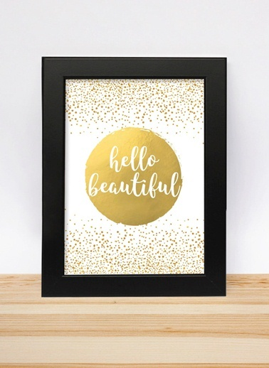 Hello Beautiful 13-18cm-Decarthome